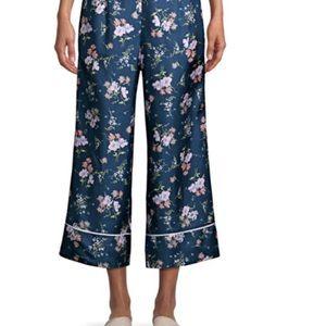 Rebecca Taylor Wide Leg silk pants